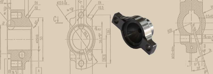 Ventilator Shaft End Flange